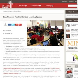 EAA Flexible Blended Learning Spaces