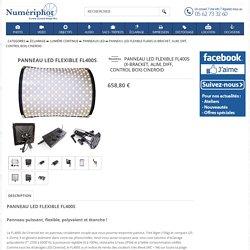 PANNEAU LED FLEXIBLE FL400S (X-bracket, alim, diff, control box) CINEROID - Numériphot