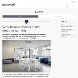 Why flexible spaces foster creative learning