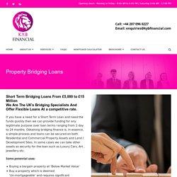 Get Property Bridging Loans UK