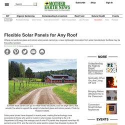 Flexible Solar Panels for Any Roof