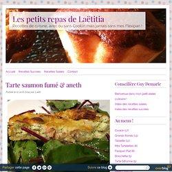 Tarte saumon fumé & aneth - RECETTE FLEXIPAN GUY DEMARLE - Conseillère Guy Demarle dans le Vaucluse (84)