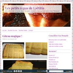 Gâteau magique ! - RECETTE FLEXIPAN GUY DEMARLE - Conseillère Guy Demarle dans le Vaucluse (84)