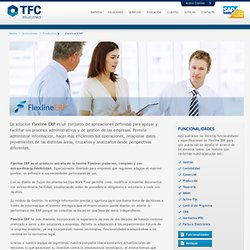 Flexline ERP « TFC Soluciones