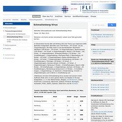 FRIEDRICH-LOEFFLER-INSTITUT - MARS 2014 – Schmallenberg-Virus