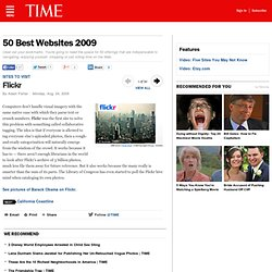 Flickr - 50 Best Websites 2009 - TIME - Flock
