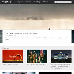 Flickr Blog