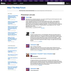The Help Forum: Photostream and sets