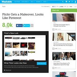 Flickr Gets a Makeover, Looks Like Pinterest
