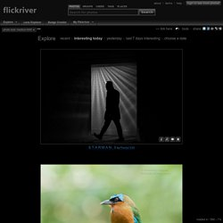 Flickriver - A new way to view Flickr photos and more...