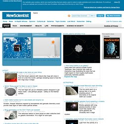 New Scientist SPACE - Breaking News &045;