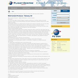 Flight Centre - Home page