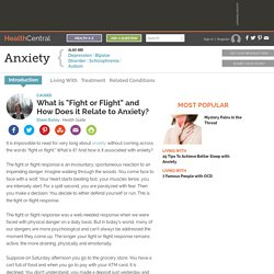 "What is ""Fight or Flight"" and How Does it Relate to Anxiety? - Causes - Anxiety"