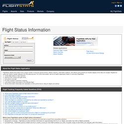 Track Flight Status