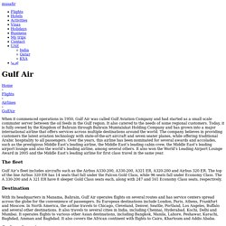 Gulf Air- Gulf Air Flight Ticket Booking Online- Musafir UAE - Musafir