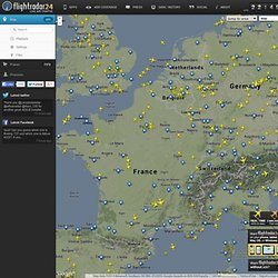 Flightradar24.com - en direct traqueur de vol!