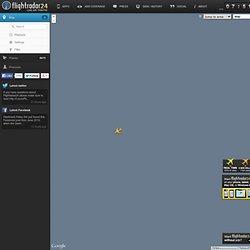 Live flight tracker!
