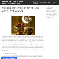 Umrah Flights from UK - Umrah Flights from UK Cheap Airline Tickets to Jeddah