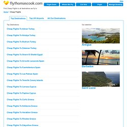 Fly Thomas Cook | Cheap Flights - Offers & Deals Online