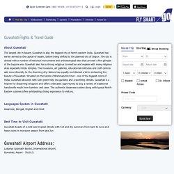 Flights to Guwahati, Book Cheap Flights to Guwahati (GAU)