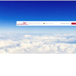 Book your ticket - Air Mauritius