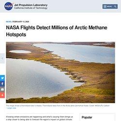 Flights Detect Millions of Arctic Methane Hotspots