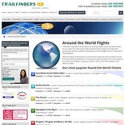 Round The World Flights & Tickets