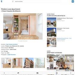Flinders Lane Apartment / Clare Cousins Architects