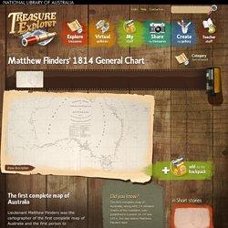 Matthew Flinders' 1814 General Chart