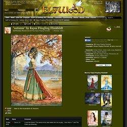 autumn, Kajsa Flingling Flinkfeldt, SciFi Fantasy Art