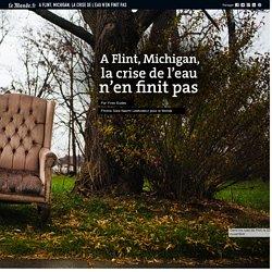 A Flint, Michigan, la crise de l'eau n'en finit pas