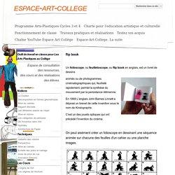 flip book - espace-art-college