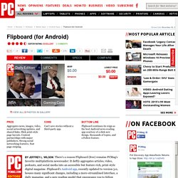 Flipboard (for Android) Review