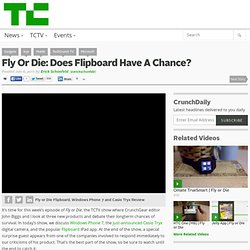 Fly Or Die: Does Flipboard Have A Chance?