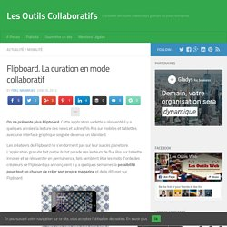 Flipboard. La curation en mode collaboratif