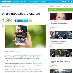 Flipboard Comes to Android