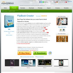FlipBook Creator - convert PDF to flash flip books - flippagemaker.com