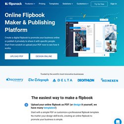 Free Online Flipbook Maker. Create Digital Flipbooks