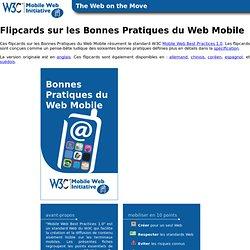 Flipcards sur les Bonnes Pratiques du Web Mobile (MWBP)