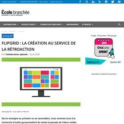 FlipGrid : la création au service de la rétroaction