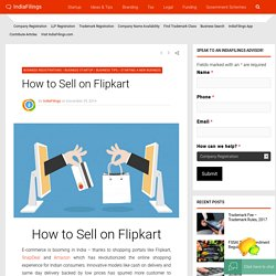 Guide: How to sell on Flipkart - Flipkart seller registration