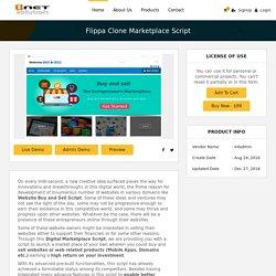 Flippa Clone Marketplace Script