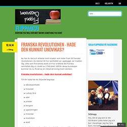 Franska revolutionen – hade den kunnat undvikas?