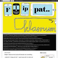 Regler i klassrummet knutna till lärande och utveckling...