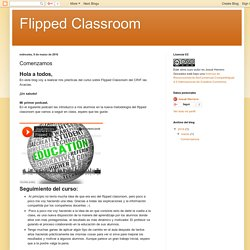 Flipped Classroom: Comenzamos