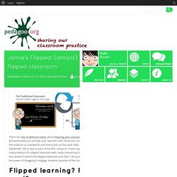 Jamie's Flipped: (almost) a year with a flipped classroom