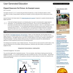 Flipped Classroom Full Picture: An Example Lesson