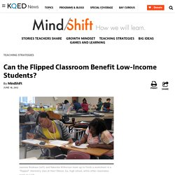 Can the Flipped Classroom Benefit Low-Income Students?