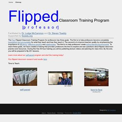 Flipped Classroom Training Program - P