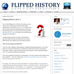 Flipping History Q & A